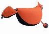 Bird Dog Dummy Large 350 Gram - Zwart - Oranje