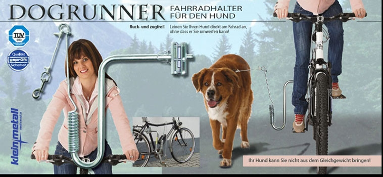 Dogrunner Fietsbeugel / Springer