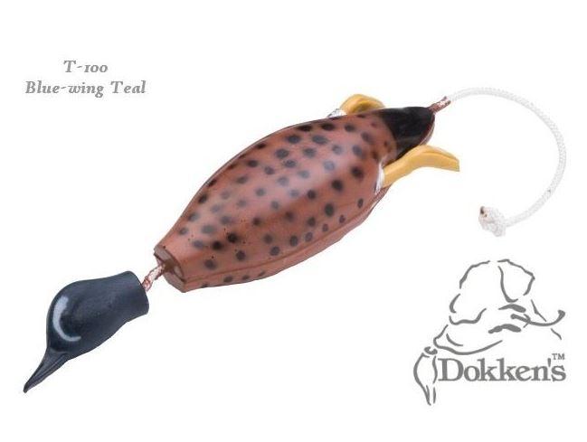Dokken Bluewing Teal