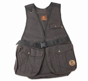 Firedog Waxed Cotton Dummyvest Hunter Bruin