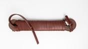 Leren Zweetlijn Kastanjebruin 15mm x 10m